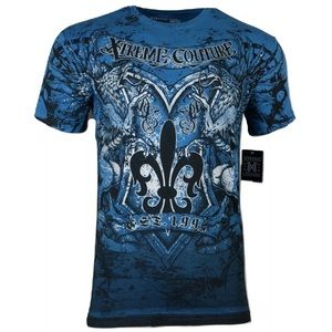 XTREME COUTURE by AFFLICTION Men T-Shirt SHIRNE